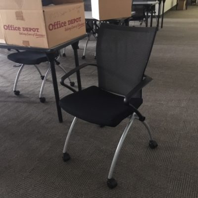 HW X-99 Seminar Nesting Chairs